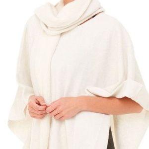 ALO yoga fleece wrap poncho